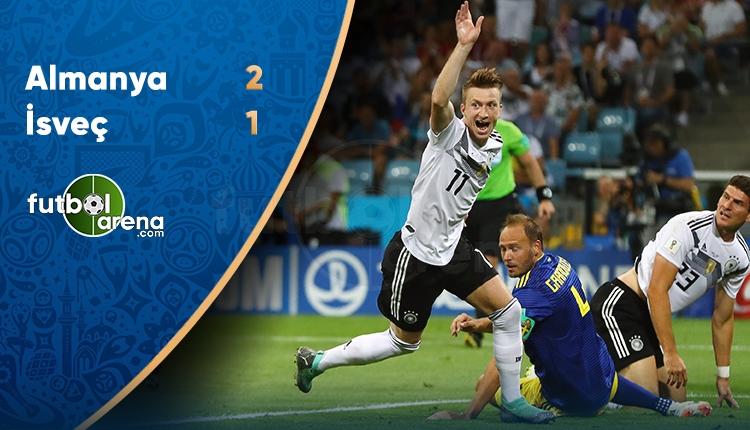 Almanya 2-1 İsveç maç özeti ve golleri (İZLE)