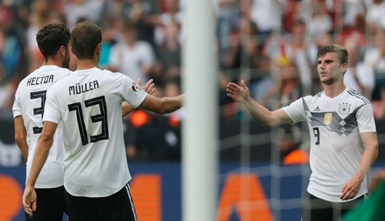 Almanya 2 - 1 Suudi Arabistan maçın özeti ve golleri (İZLE)