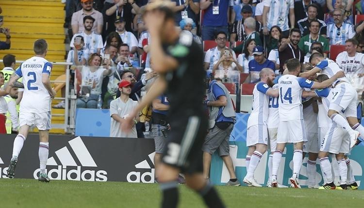 Arjantin 1-1 İzlanda maç özeti ve golleri İZLE
