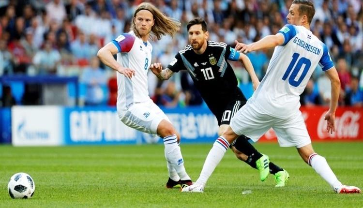 Arjantin - İzlanda maçının öyküsü