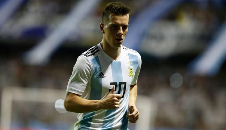 Arjantin'de kilit isim Goivani Lo Celso!