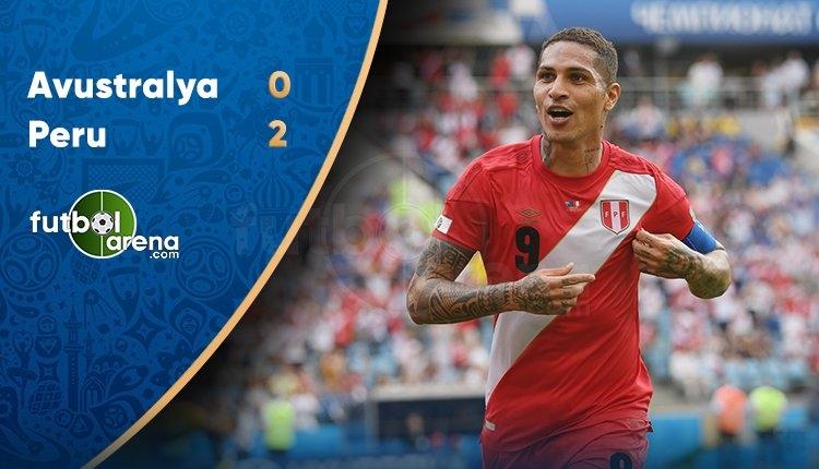 Avustralya 0-2 Peru maç özeti ve golleri (İZLE)
