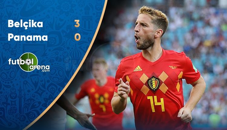 Belçika 3-0 Panama maçı özeti ve golleri (İZLE)