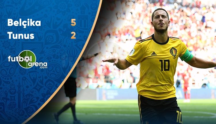 Belçika 5-2 Tunus maçı özeti ve golleri (İZLE)
