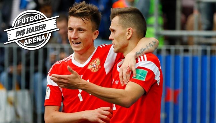 Chelsea, Aleksandr Golovin ile dirsek temasında