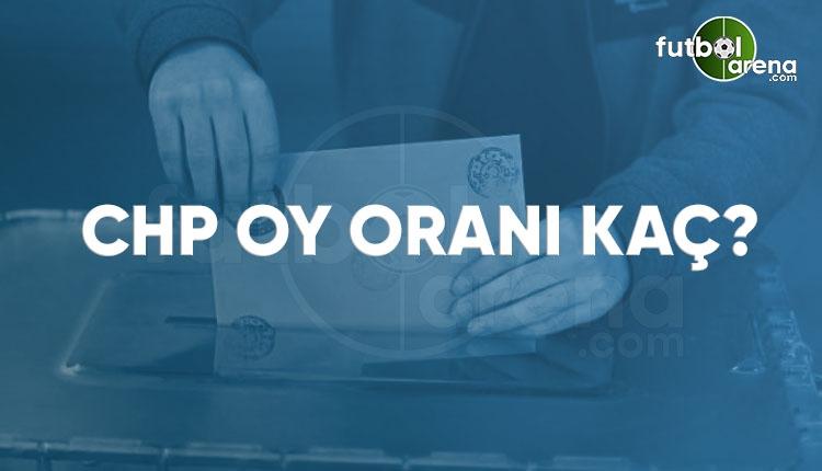 CHP kaç milletvekili çıkardı? CHP oy oranı ve milletvekili sayısı 2018 (2018 seçim sonuçları CANLI İZLE)
