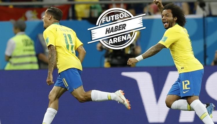 Coutinho Brezilya - İsviçre maçında attığı golle tarihe geçti (İZLE)