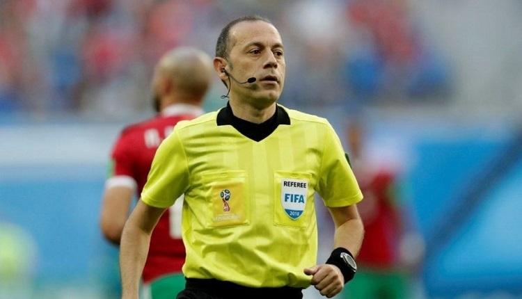 Cüneyt Çakır, Rusya-Mısır maçında görev alacak