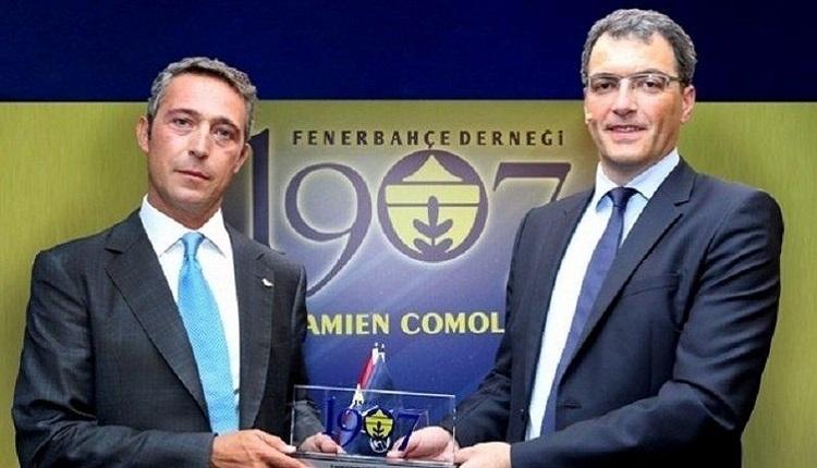 Damien Comolli'den transfer açıklaması (Fenerbahçe'nin yeni sportif direktörü Damien Comolli)
