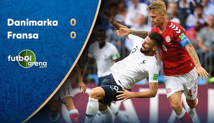 Danimarka 0-0 Fransa maç özeti (İZLE)
