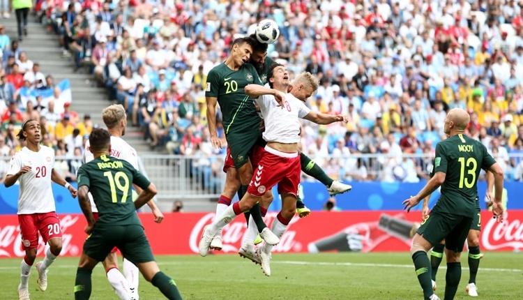 Danimarka - 1-1 Avustralya maçın özeti ve golleri (İZLE)