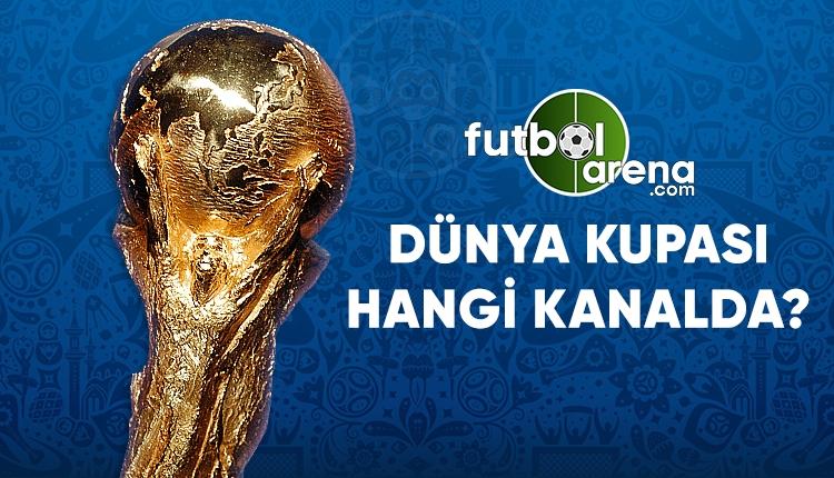 Dünya Kupası hangi kanalda? Dünya Kupası maçları saatleri, fikstürü ve canlı yayınlar