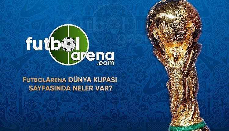 Dünya Kupası heyecanı FutbolArena'da olacak