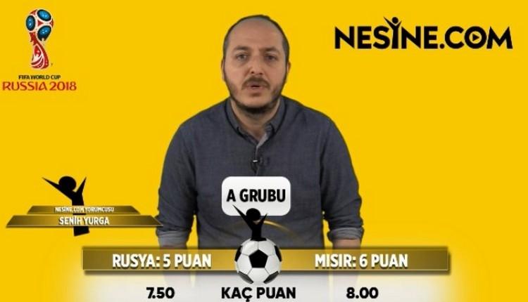 İddaa Tahminleri: Dünya Kupası'nda A Grubu'nda kim, kaç puan toplar?