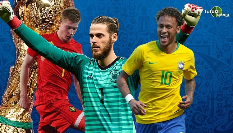 Dünya Kupası'nın mevki mevki en değerli oyuncuları