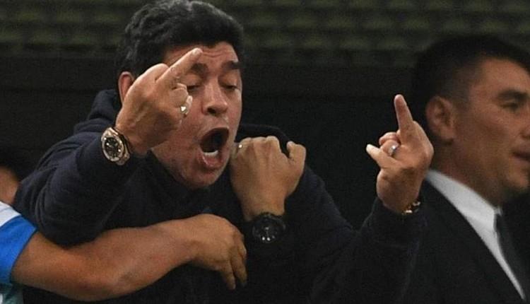 Emenike'den Maradona'ya çok sert sözler: