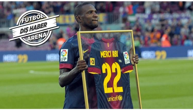 Eric Abidal yeniden Barcelona'da