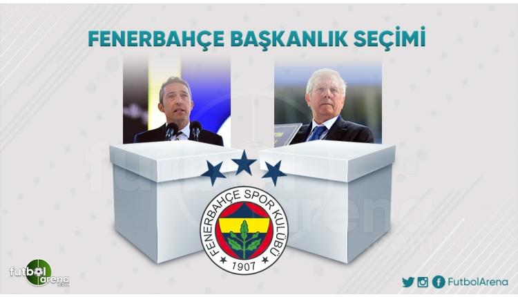 Fenerbahçe Kongresi'nde başkanlık seçimi sona erdi