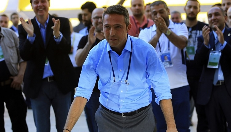 Fenerbahçe yeni başkanı Ali Koç'un ilk sözleri