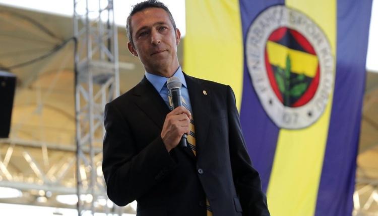 Fenerbahçe'de Ali Koç'tan reklam açıklaması