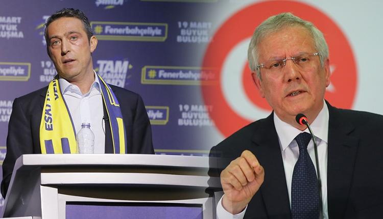 Fenerbahçede Koç ve Yıldırımın listeleri belli oldu