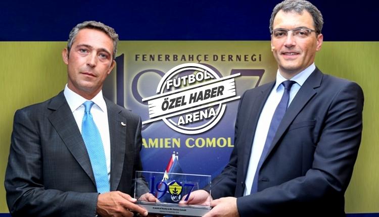 Fenerbahçe'nin sportif direktörü Damien Comolli geliyor