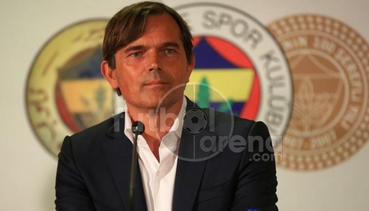 Fenerbahçe'nin yeni teknik direktörü Cocu'nun ilk sözleri