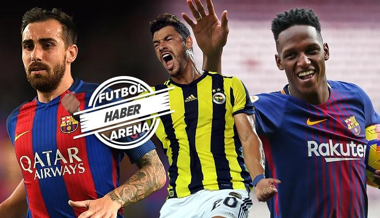 Fenerbahçe'ye transferde Barcelona'dan 3 oyuncu
