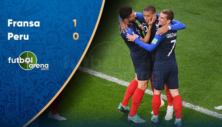 Fransa 1-0 Peru maç özeti ve golleri (İZLE)