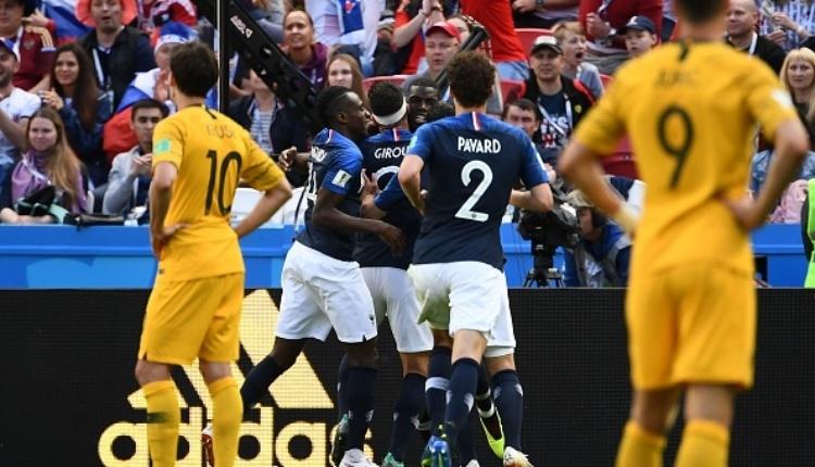Fransa 2-1 Avustralya maç özeti ve golleri (İZLE)
