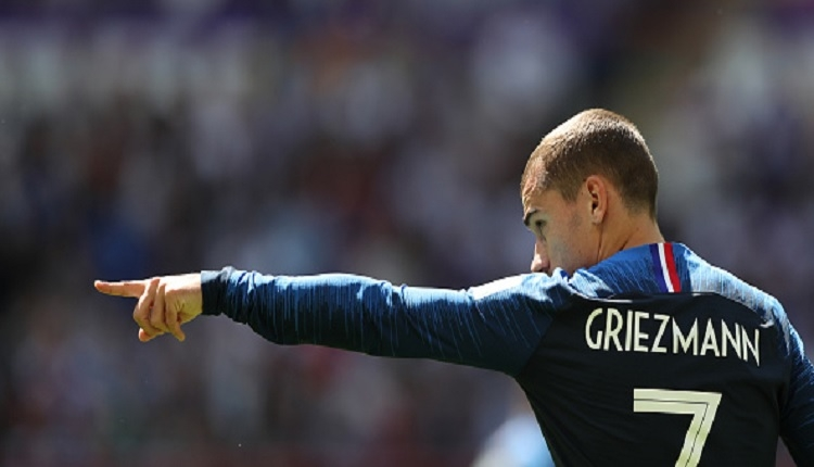 Fransa - Avustralya maçın adamı Griezmann