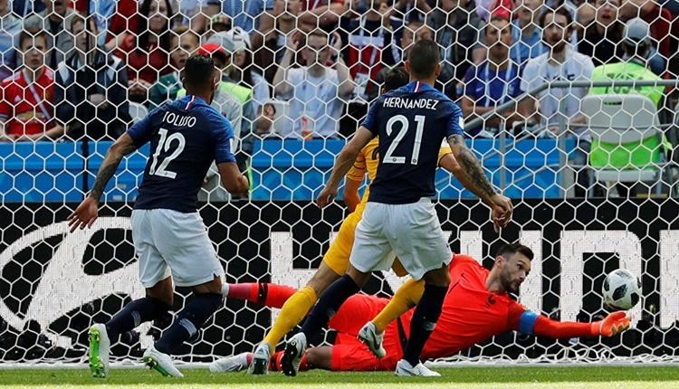 Fransa - Avustralya maçının öyküsü