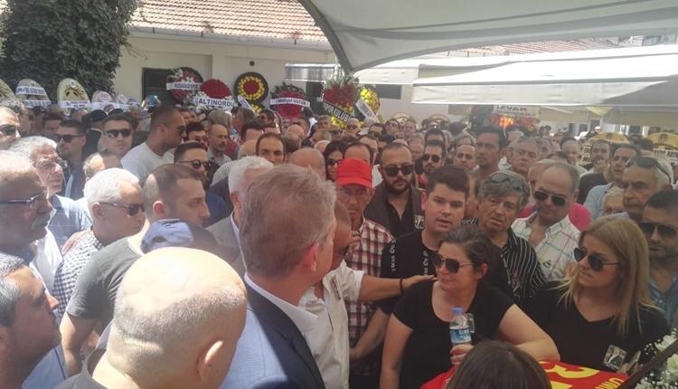 Futbol ailesi Ümit Kayıhan'ı son yolculuğuna uğurladı