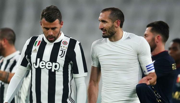 Galatasaray ile anılan Giorgio Chiellini Juventus'ta kaldı