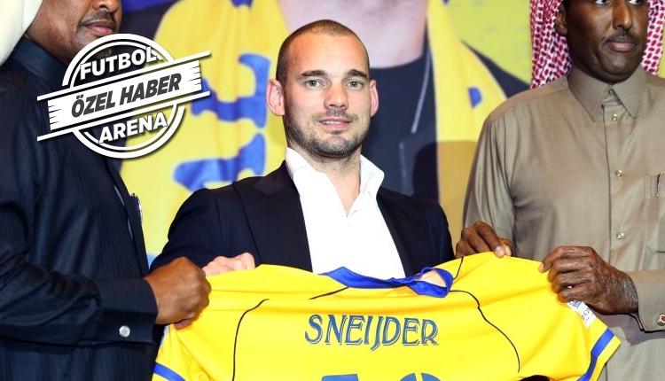 Galatasaray yönetiminden Sneijder için net yanıt
