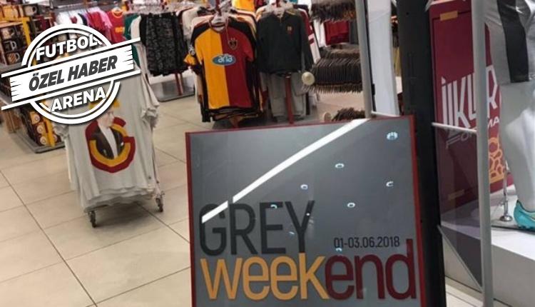 Galatasaray'da 'Grey Weekend' kampanyasının ilk gününde 1,5 milyon TL gelir