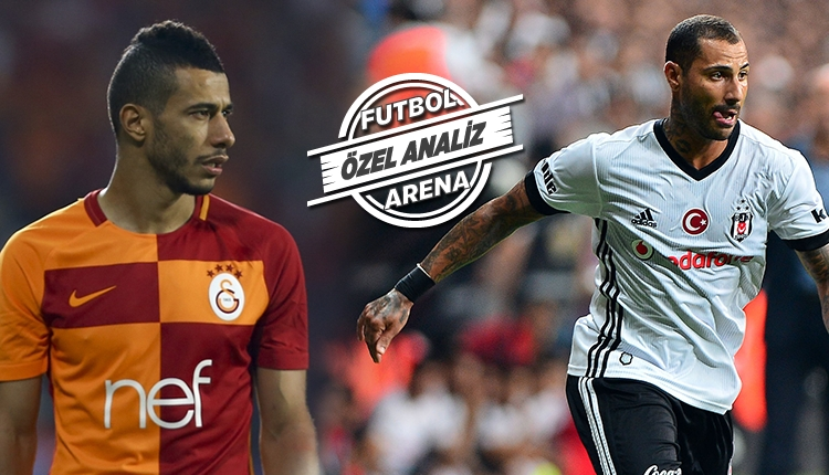 Galatasaray'ın, Beşiktaş'tan farkı pasla hücum! Younes Belhanda...