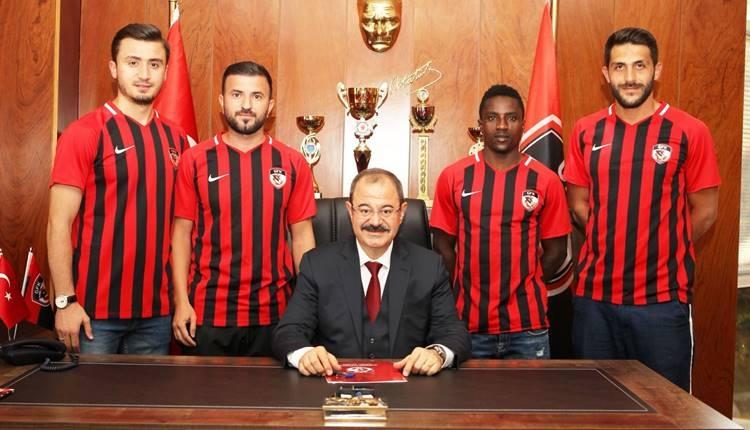 Gazişehir Gaziantep'ten transfer şov
