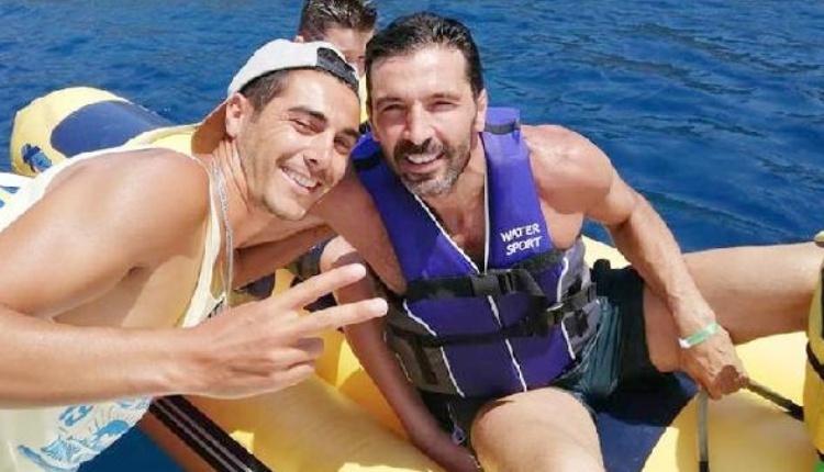 Gianluigi Buffon tatil için Bodrum'a geldi