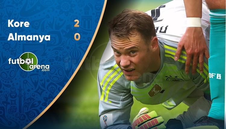 Güney Kore 0-2 Almanya maç özeti (İZLE)