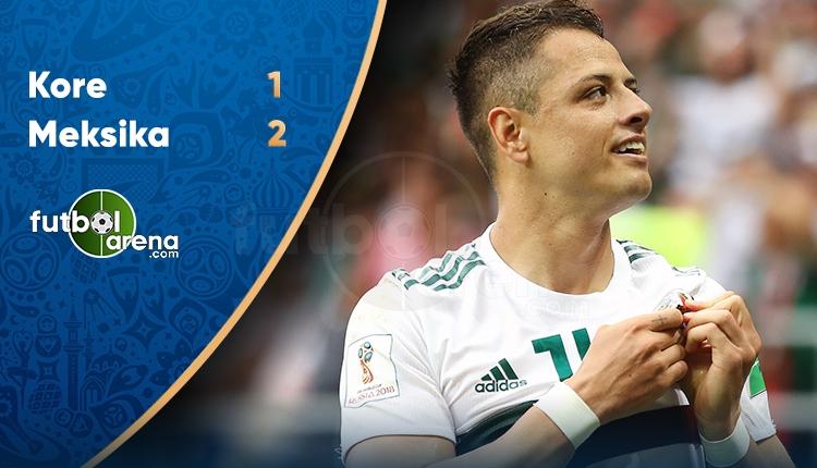 Güney Kore 1-2 Meksika maç özeti ve golleri (İZLE)