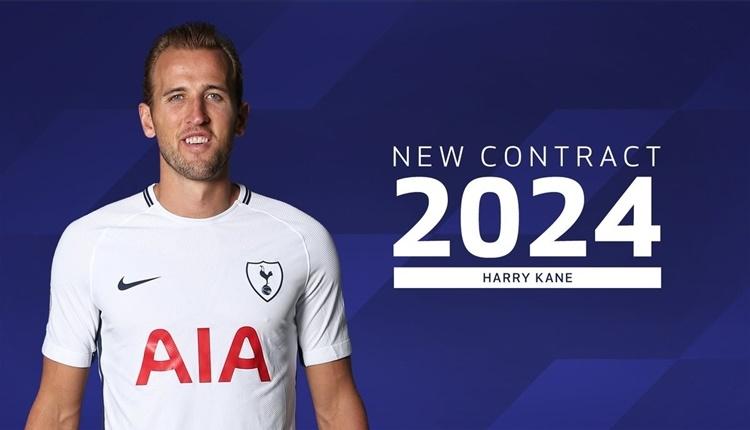Transfer Haberleri: Harry Kane, 2024'e kadar Tottenham'da!