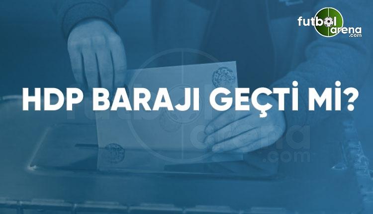 HDP barajı geçti mi? HDP oy oranı ve milletvekili sayısı 2018 (Canlı seçim sonuçları)