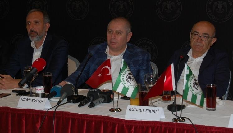 Hilmi Kulluk, Konyaspor'a başkan adaylığını açıkladı