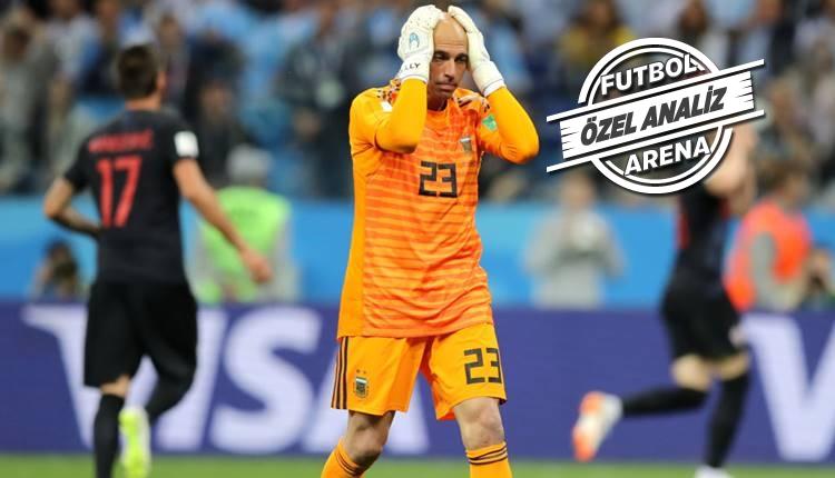 Hırvatistan - Arjantin maçının hikayesi: 'Ne yapsan olmuyor gözüm'