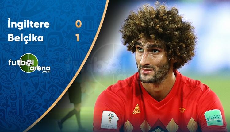 İngiltere 0-1 Belçika maç özeti ve golleri (İZLE)