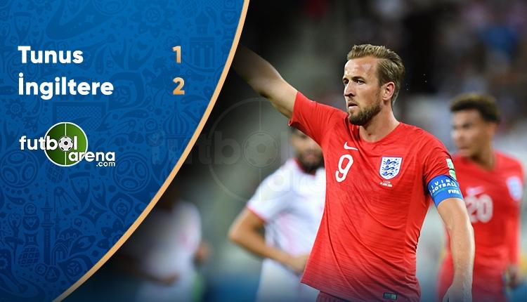 İngiltere 2-1 Tunus maçı özeti ve golleri (İZLE)