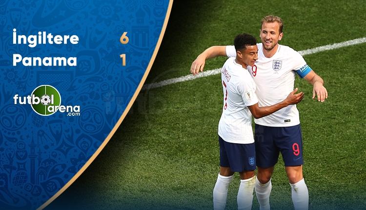 İngiltere 6 - 1 Panama maçının özeti ve golleri (İZLE)