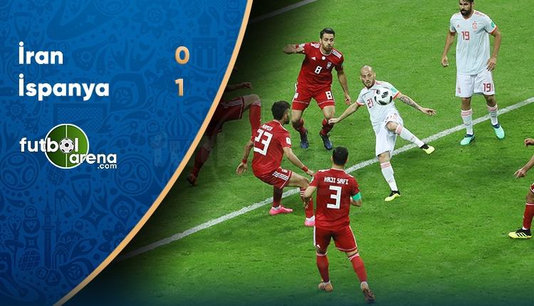 İran 0-1 İspanya maç özeti ve golleri (İZLE)