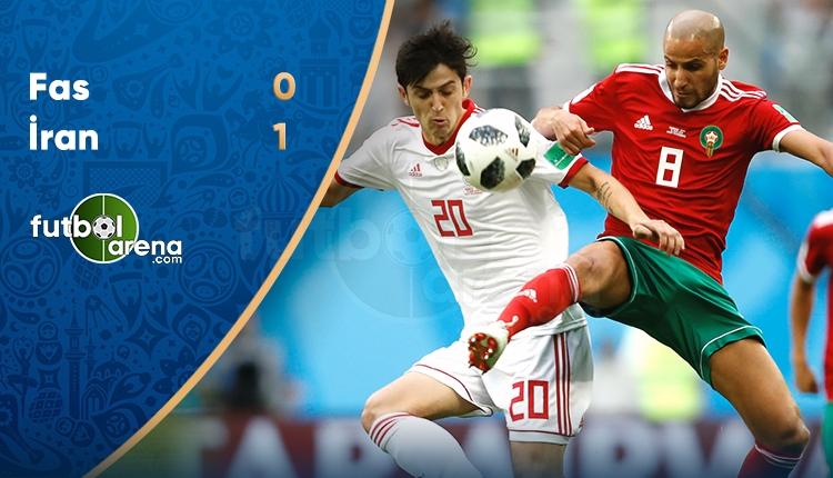 İran 1-0 Fas maç özeti ve golü (İZLE)